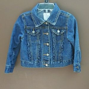 1989 Place | Toddler Girl Jean Jacket Sz 2T